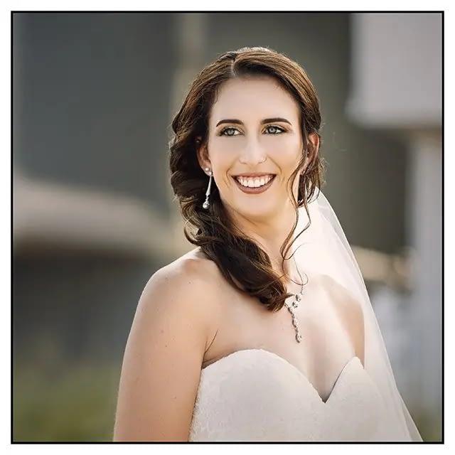 Bride at wedding at Solero Restaurant