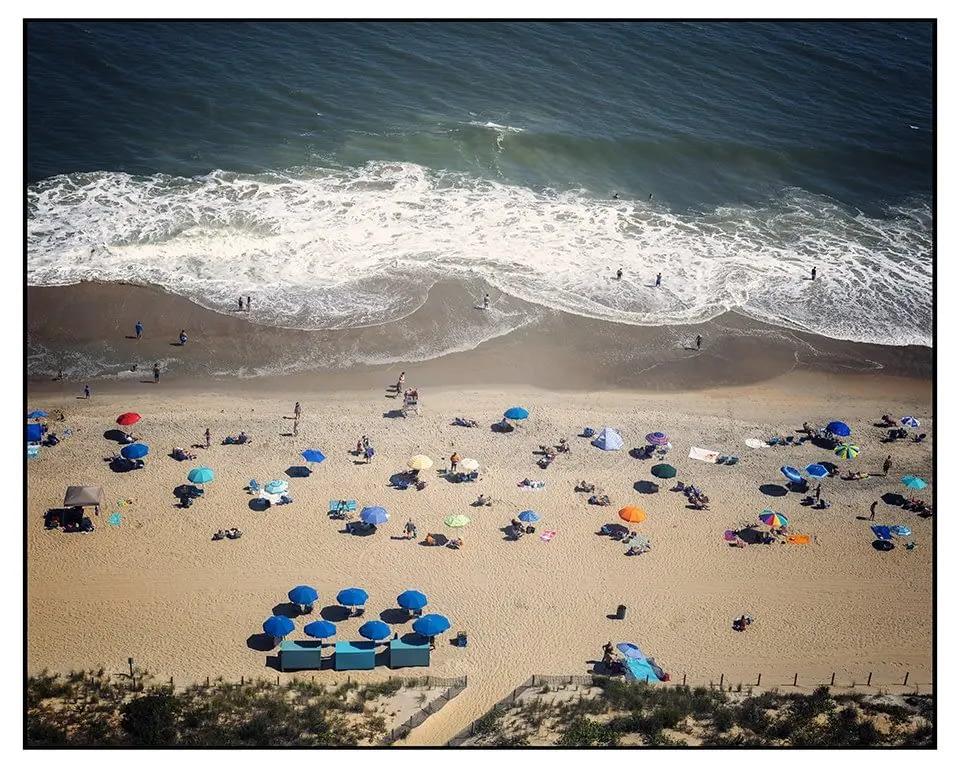 Beach at Golden Sand Ocean City MD