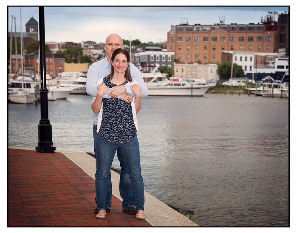 Engagement Photos at Inner Harbor