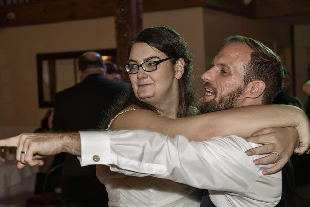 weddings photo of bride and groom dancing