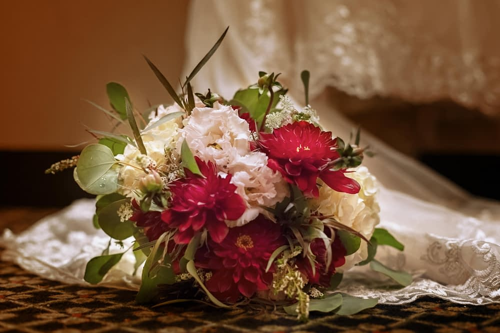 eastern shore weddings photo of wedding bouquet