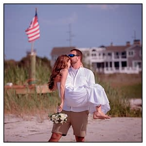 Beach wedding Dewey Beach Delaware
