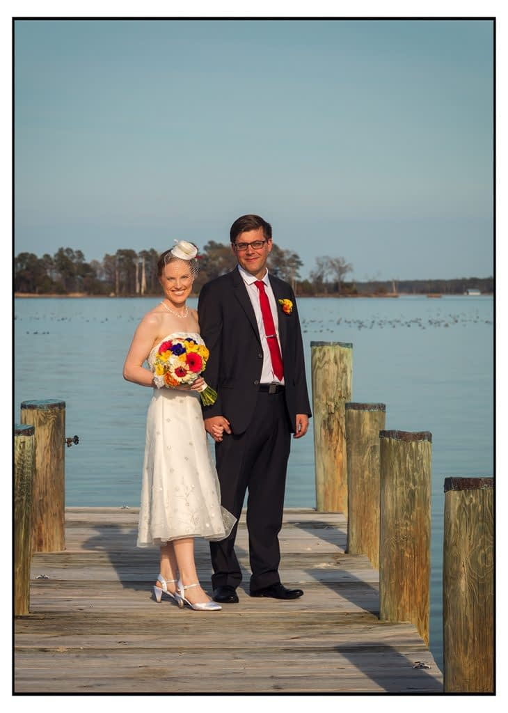 Eastern Shore wedding at Swan Cove cambridge maryland