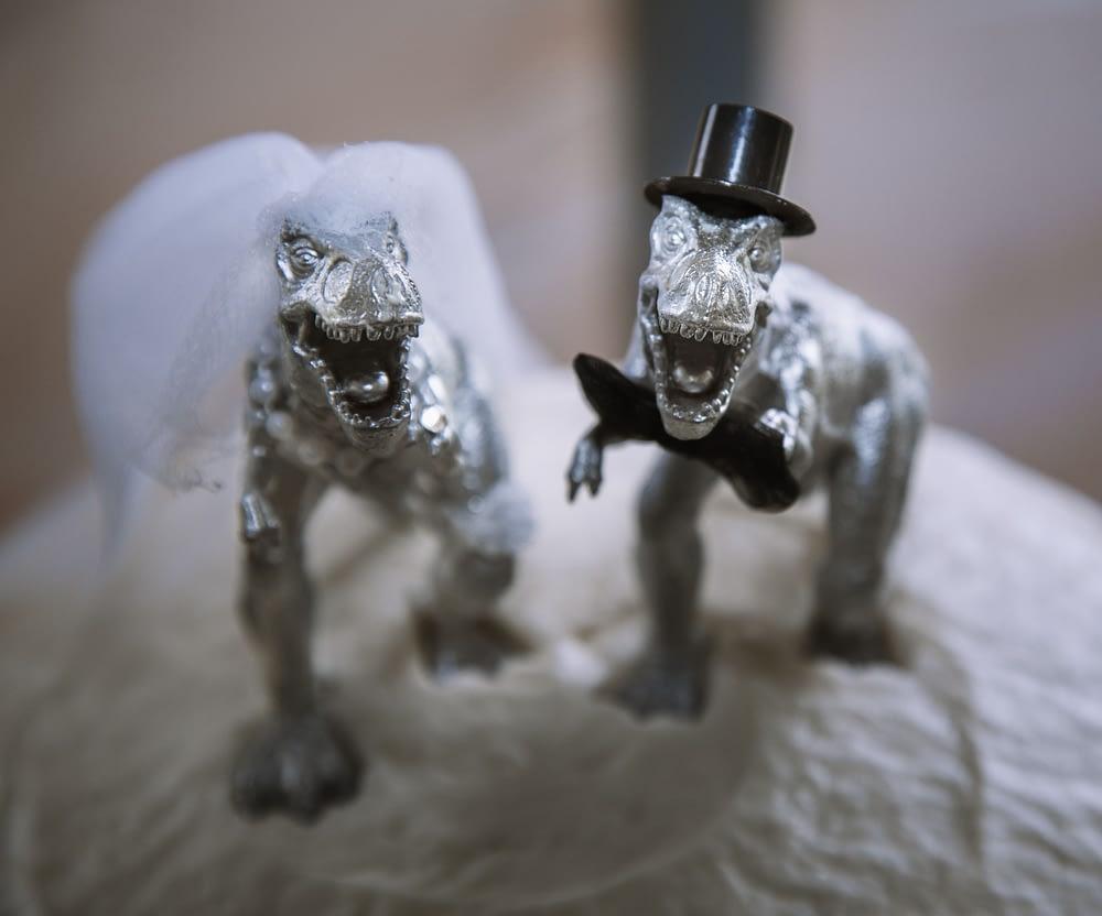 Eastern shore weddings photo of cake topper